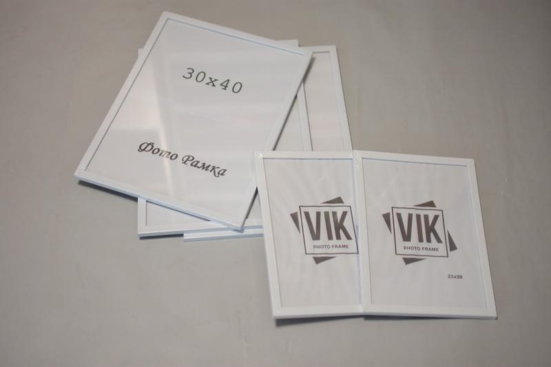 Рамочки для фото белые заказать Харьков