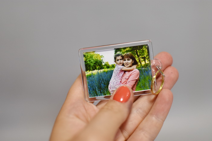 Брелок с фото заказать Днепр