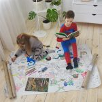 Динозавры гигантская раскраска Николаев
