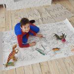 Динозавры гигантская раскраска Украина