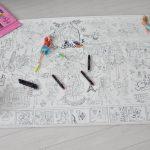 Огромная раскраска Барби грн Украина