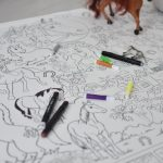 Большая раскраска лошади Киев