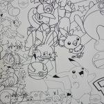 Огромная раскраска покемон Киев