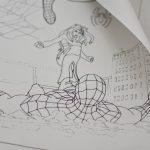 Огромная раскраска человек паук грн Украина