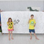 Гигантская раскраска Харьков достопримечательности для детей