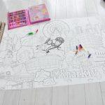 Гигантская раскраска для детей Харьков недорого