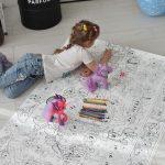Литл Пони гигантская раскраска для девочек грн