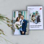 Магниты с фото на заказ Харьков свадьба