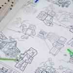 Майнкрафт гигантская раскраска Чернигов