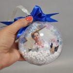 Новогодние шарики с фотографией в Харькове