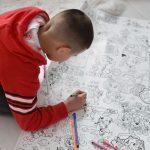 Щенячий патруль гигантская раскраска рисование