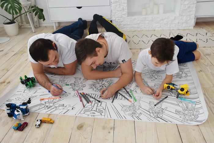 Трансформеры макси раскраска Украина