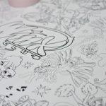 Раскраска Феи Винкс фотокрапка