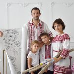 Большая раскраска Украина 1