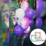 Фиолетовые шары Харьков