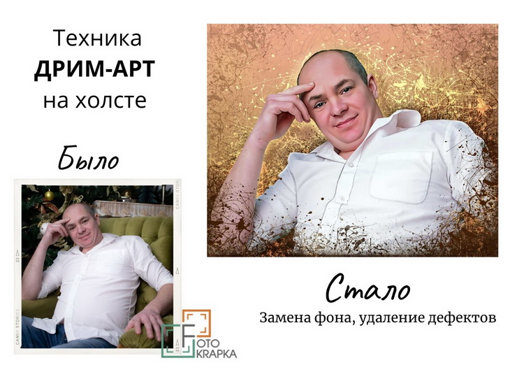 Дрім-арт на полотні Україна