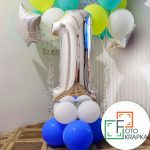 Гелиевые шарики на годовасие Харьков 1