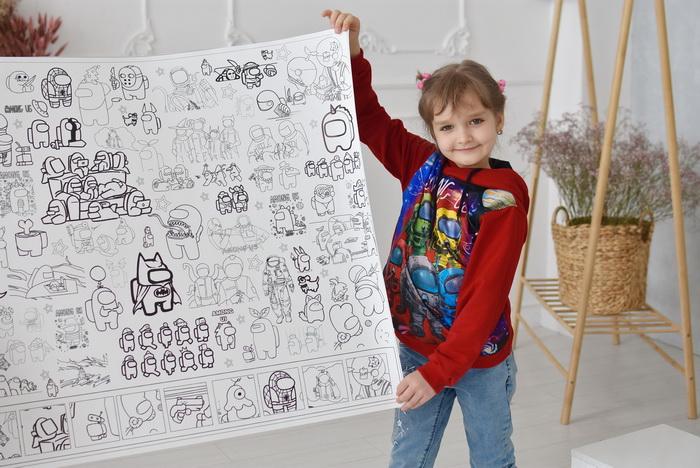 Амонг ас розмальовка велика Тернопіль