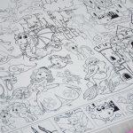 Аріель розмальовка гігантська грн