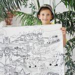Чаггінгтон розмальовка велика гігантська Томас
