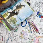 Динозаври гігантські розмальовки замовити
