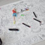 Велика гігантська розмальовка Барбі Тернопіль