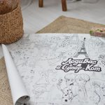 Велика гігантська розмальовка Леді Баг на день народження