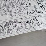 Велика гігантська розмальовка Покемон придбати