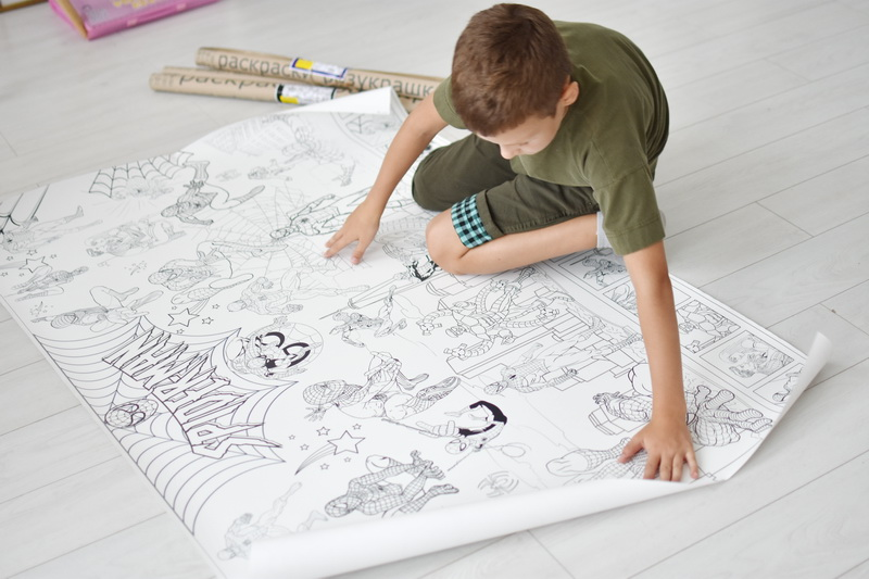 Велика гігантська розмальовка Людина павук Тернопіль