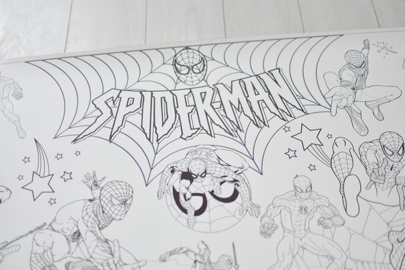 Велика гігантська розмальовка Людина павук Львів