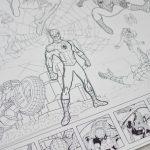 Велика гігантська розмальовка Людина павук Київ