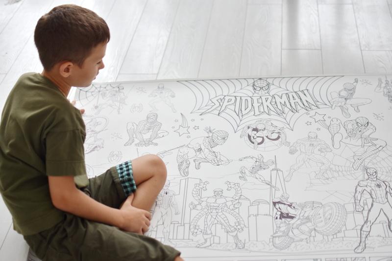 Велика гігантська розмальовка Людина павук Харків