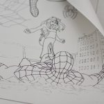 Велика гігантська розмальовка Людина павук купити