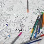 гігантська розмальовка Феї Вінкс