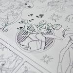 Велика гігантська розмальовка Феї Вінкс придбати