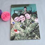 Картина на полотні вояки