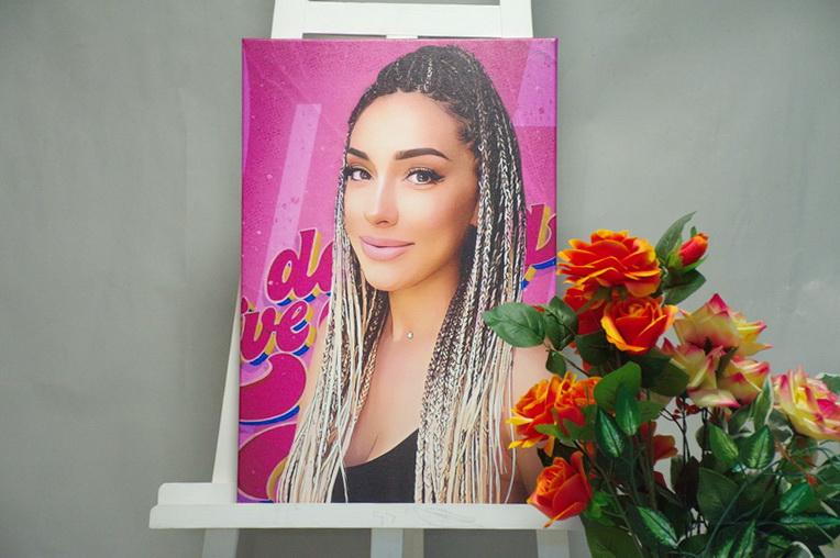 Дрім-арт на полотні портрет