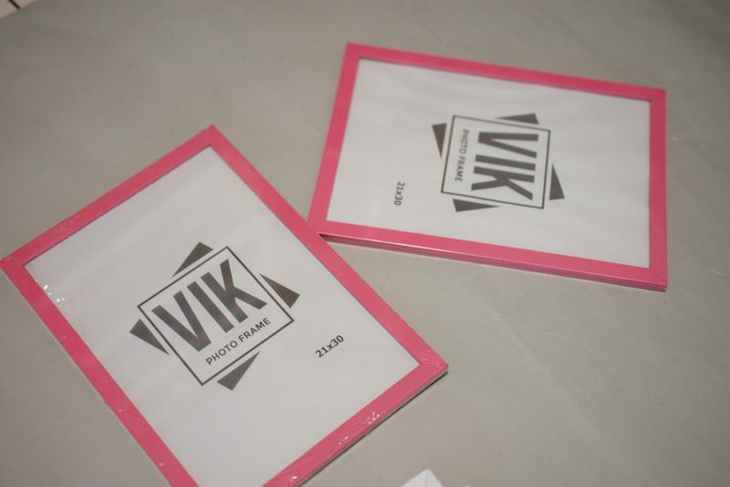 фотрамка А4 рожева