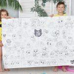 44 кошеняти розмальовка гігантська