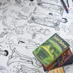Гаррі Поттер розмальовка гігантська Луцьк
