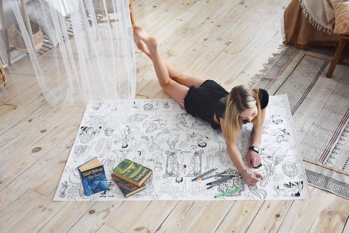 Гаррі Поттер розмальовка гігантська грн