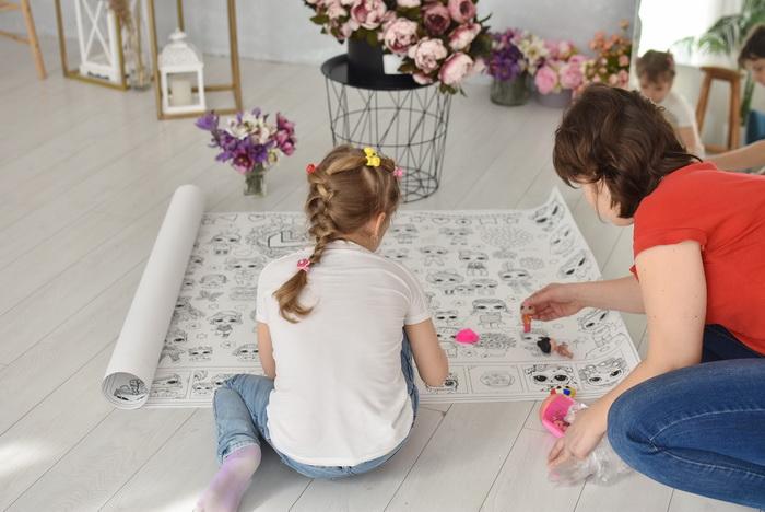 Лялки Лол розмальовка велика для дівчат