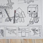 Майнкрафт розмальовка грн