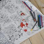 Новорічна розмальовка для дітей Україна