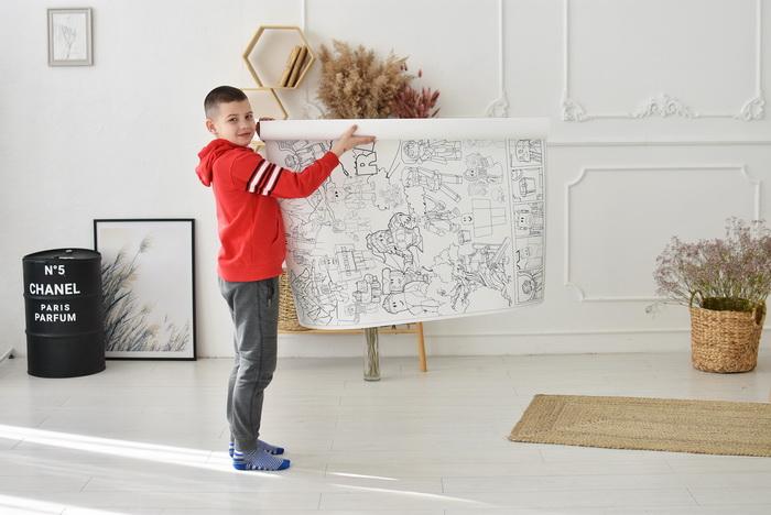 Роблокс гігантська розмальовка велика