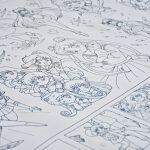 Сейлормун розмальовка гігантська купити