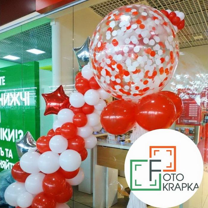 Шар гигант Харьков водофон