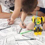 Трансформери розмальовка гігантська Бамблбі