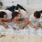 Трансформери розмальовка гігантська Україна