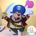 Ростовая фигура пират грн.